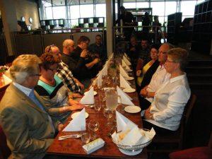 De som ble igjen etter møtets slutt spiste en bedre middag på hotellets restaurant. En meget hyggelig avslutning på landsmøtet 2014