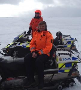 Polisinspektör Lena Nilsson