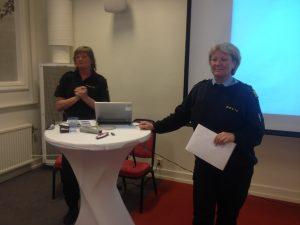 Nilsson og Friberg fra politiet i Dalarna
