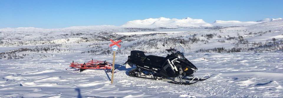 Støtte til arbeid med snøscooterløyper