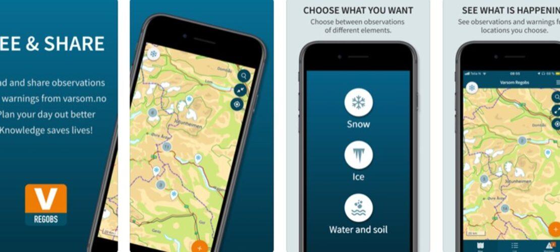 Ny app varsler skredfare